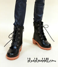1/3 bjd sd13 sd17 boy doll shoes black martin boots super dollfie luts ship US