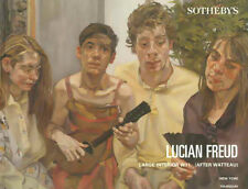 Sotheby's /// Lucian Freud Painting Post Auction Catalog Contemporary Art