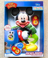 Wall Friends Disney MICKEY MOUSE Talking Room Light - New in Box / Unused