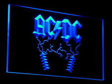 ACDC AC/DC Rock n Roll BarLED Neon Sign Man Cave C004-B