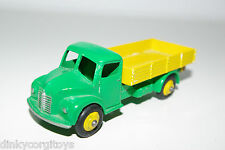 DINKY TOYS 414 DODGE TIPPER TRUCK GREEN YELLOW REPAINT NEAR MINT CONDITION