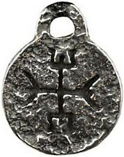 VIKING Celtic LOVE RUNE Pewter Runic Amulet Pendant SCA LARP Wicca Pagan Spell