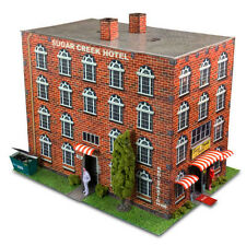 1/64 Slot Car HO Hotel Photo Real Scale Kit Model Diorama Scenery Track Layout