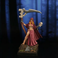 Reaper PAINTED Female Necromancer,  Wizard, Mage, D&D Frostgrave 3751