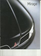 Mitsubishi mirage sales brochure 2001