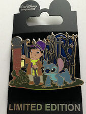 WDI Haunted Mansion The Caretaker and His Dog Series Lilo and Stitch Pin LE 200
