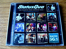 CD Double: Status Quo : The Frantic Four Reunion 2013 Hammersmith Back 2 Sq.1