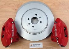 MG TF PAIR NEW O/S & N/S 304mm DISCS + NEW 2 POT AP BRAKES FREE 24 HR DELIVERY