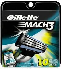 Gillette Mach3 Men's Razor Blade Refills 10 Count (packaging may vary)