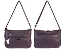 WOMEN'S IN 6 COLOURS SOFT FAUX LORENZ LEATHER SHOULDER BAG HANDBAG LIGHTWEIGHT