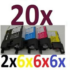 20x Tinte Drucker Patronen für MFC-J6910DW ersetzt Brother LC1240 LC1220 LC1280
