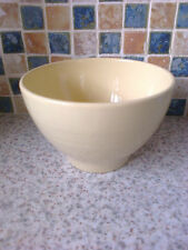 RETRO WOODS WARE JASMINE DESIGN YELLOW COLOUR SUGAR BOWL OR CEREAL/PUDDING BOWL