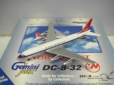 "Gemini Jets Northwest Airlines NWA DC-8 ""1960s Delivery Color"" 1:400"