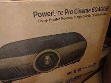 Epson Pro Cinema 6040UB EH-TW9300 3D 4K HDR 1080P Projector Mount Lamp Bundle
