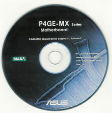 ASUS P4GE-MX Motherboard Drivers Installation Disk M463