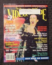 1999 VIDEOSCOPE Magazine #29 FN+ Scream Queens Halloween Trilogy
