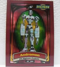 "DIGIMON TRADING CARDS - ""ANDROMON"" Speciale D4 - carte 2a SERIE gialla"