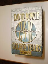 Au20 David Bowie The 24K Gold Collection  Ryko Limited Edition 8 CD Box Set #319
