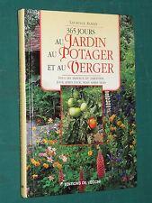 365 jours au potager et au jardin Laurence ALBERT