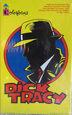 Dick Tracy - Colorforms - Sticker Comic Playset  Create Your Own Adventure - New