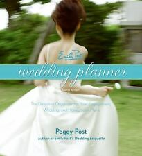 Emily Post's Wedding Planner by Peggy Post