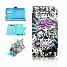 Demon Style Hoster Flip Wallet Cover Gel Case For Samsung Galaxy Note 4 IV N9100