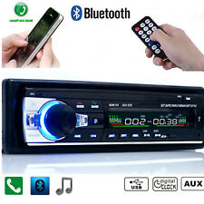 Bluetooth Car Stereo Audio In-Dash FM Aux Receiver SD USB MP3 WMA Radio Player