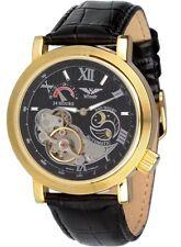 Minoir Uhren - Modell Premiere gold/schwarz - Automatikuhr, Herrenuhr, Damenuhr