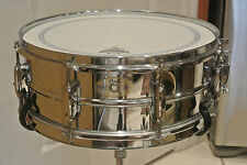 ADD THIS PEARL MIRROR CHROME SNARE DRUM to YOUR DRUM SET!!! LOT #G190