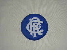 GLASGOW RANGERS FOOTBALL CLUB EMBLEM SEW ON RETRO PATCH (SCOTLAND IBROX STADIUM