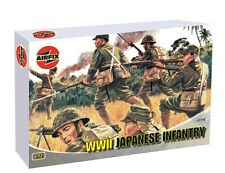 Plastic Soldiers Airfix 1/72 WWII Japanese Infantry Boxed Set 48 Figures 1718