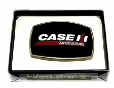 Case Agriculture IH Belt Buckle Tractor Harvester Farm Black Spec Cast Licensed