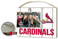 St Louis Cardinals Clip It Weathered Logo Photo Frame [NEW] MLB Picture