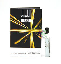 Dunhill Black Men Perfume Mini Edt 2ml Miniature Vial Eau de Toilette Fragrances