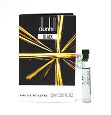 Dunhill Black Men Perfume Mini Edt 2ml Miniature Vial Eau de Toilette Fragrances