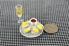 Re-ment Meal Seafood Oyster Miniature Food Dollhouse Accessories 1/6 Doll Scale