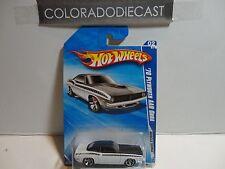 2010 Hot Wheels #80 White '70 Plymouth AAR Cuda w/MC5 Spoke Wheels