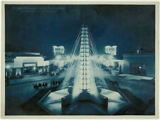 Photo Cyanotype Paris Exposition des Arts Décoratifs 1925