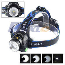 5000LM Zoomable XML XM-L T6 LED 18650 Bike Bicycle Belt Clip HeadLamp HeadLight