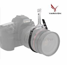 Varavon Sling Follow Focus DSLR for Canon EOS EF Nikon Nikkor Sony α Lens Black
