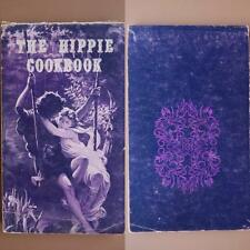 Vintage 1970s The Hippie Cookbook Gordon Phyllis Grabe Rare Original Book