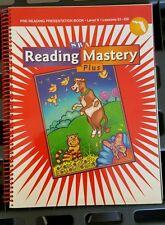 SRA Reading Mastery Pre-Reading Presentation Book  Kindergarten level k florida