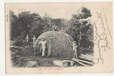 South Africa, Kafir Hut Under Construction 1904 Postcard, B323