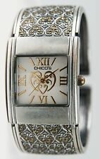 Chico's Women's Antique Plated Two-Tone Bangle Watch CH-835. New and unworn.