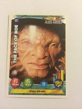 DOCTOR WHO- ALIEN ARMIES- TRADING CARD GAME- 021-THE FACE OF BOE- MINT