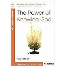 The Power of Knowing God (40-Minute Bible Studies) by Arthur, Kay, Good Book
