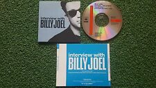 BILLY JOEL **Interview With..** PROMO SOUVENIR CD THE ULTIMATE 1990