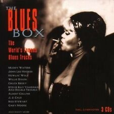 BLUES BOX 3 CD MIT MUDDY WATERS UVM. NEU