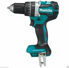 """New Makita 18 Volt Brushless 1/2"""" Hammer Drill Driver W/ Clip Bare Tool # XPH12"""