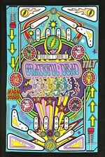 "Tapestry - Grateful Dead"" Pinball Machine"" 3D 30x45 (Glasses Included) FREE MAIL"